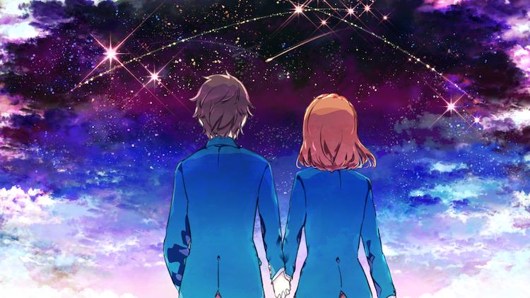 夜の星は君の影